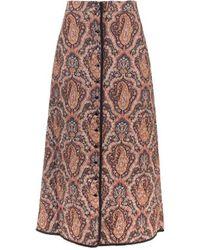 Celine Wool Skirt - Natural