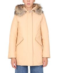 Woolrich Other Materials Trench Coat - Natural