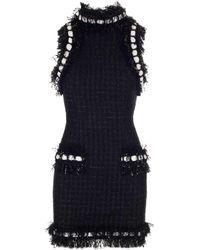 Balmain Cotton Dress - Black