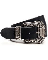 Golden Goose Deluxe Brand Other Materials Belt - Black