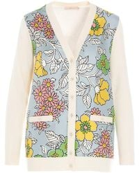 Tory Burch Other Materials Jumper - Multicolour