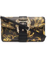 Versace Jeans Couture 71va4bfa71880g89 polyurethan schultertasche - Schwarz