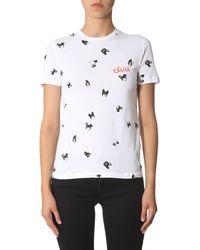 Être Cécile - White Cotton T-shirt - Lyst