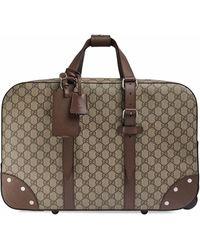 Gucci Polyurethane Trolley - Brown