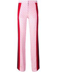 Stella McCartney Pink Silk Pants