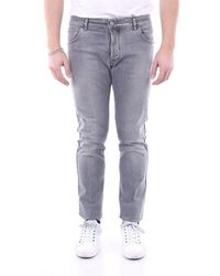 Entre Amis Jeans Slim - Grey