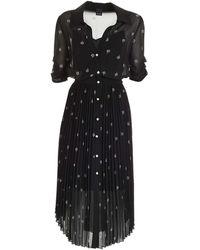Pinko - Viscose Dress - Lyst
