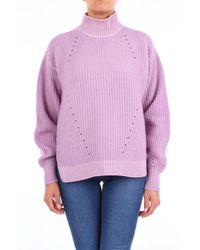 Cruciani Wool Jumper - Purple
