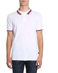 PS by Paul Smith Cotton Polo Shirt - White