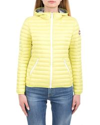 Colmar Polyester Down Jacket - Yellow