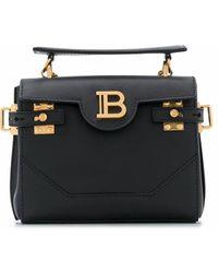 Balmain Leather Backpack - Black