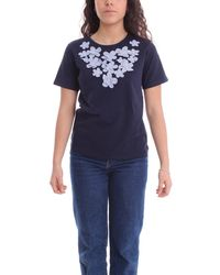 Molly Bracken Cotton T-shirt - Blue