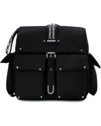 MICHAEL Michael Kors - Black Leather Backpack - Lyst