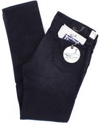 Jacob Cohen Jeans modell 688 in schwarz