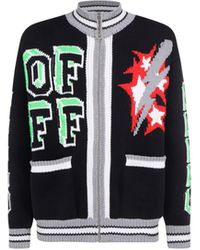 Off-White c/o Virgil Abloh Cardigan - Black