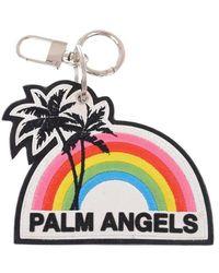 Palm Angels GUMMI SCHLÜSSELANHÄNGER - Mehrfarbig