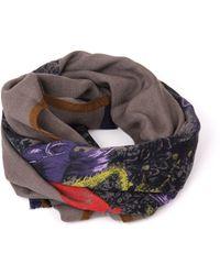 Etro Multicolour Wool Scarf