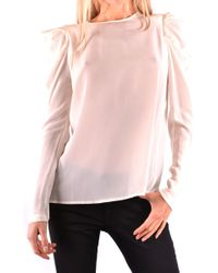 Pinko White Silk Shirt