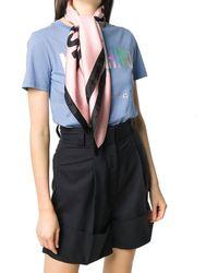 Moschino SEIDE FOULARD - Pink