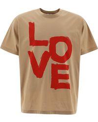 Burberry Andere materialien t-shirt - Braun