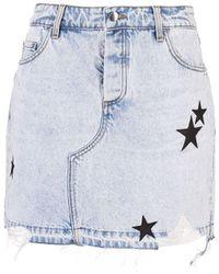 Amiri Skirt - Blue