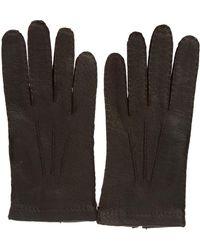 Merola Gloves Brown Leather Gloves