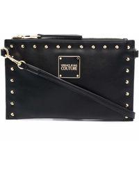 Versace Jeans Couture 71va4bex71407899 polyurethan pouch - Schwarz