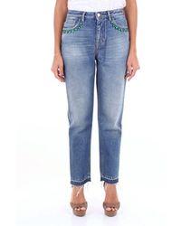 Pt05 Tx20c1vjtiz40den Cotton Jeans - Blue