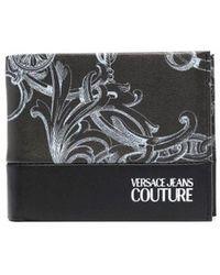 Versace Jeans Couture Portafoglio zs119899 ecopelle - Nero