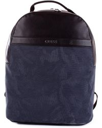 Guess Black Fabric Backpack