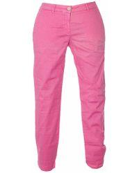 Jeckerson Pink Cotton Pants