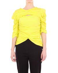 Vionnet Yellow Silk Sweater