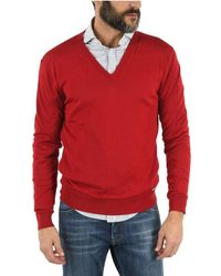 DSquared² WOLLE SWEATER - Rot