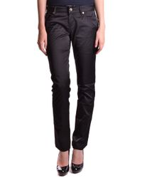 Liu Jo Black Cotton Trousers