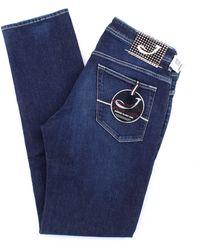 Jacob Cohen Jeans modell 613 - Blau