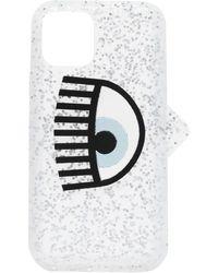 Chiara Ferragni Custodia Iphone 11 Pro Con Occhio - Metallizzato