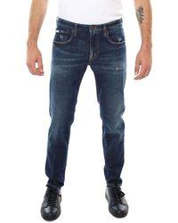 People Cotton Jeans - Blue