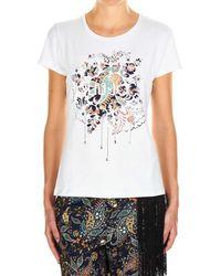 Liu Jo White Cotton T-shirt