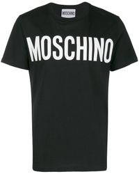Moschino - BAUMWOLLE T-SHIRT - Lyst