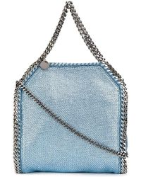 Stella McCartney Light Blue Polyurethane Handbag