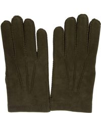 Merola Gloves - Green Leather Gloves - Lyst