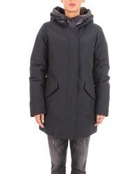 Woolrich - Blue Polyamide Outerwear Jacket - Lyst