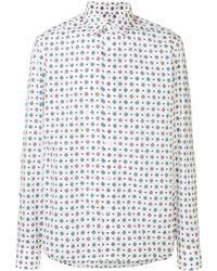 KENZO - White Cotton Shirt - Lyst