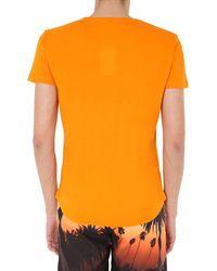 Orlebar Brown 'Bulldog' Badeshorts mit Print - Orange