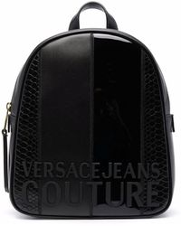 Versace Jeans Couture 71va4b47zs074899 polyurethan rucksack - Schwarz