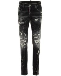 DSquared² ANDERE MATERIALIEN JEANS - Schwarz