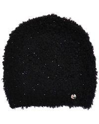 Liu Jo Black Acrylic Hat
