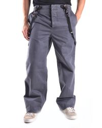 Marc Jacobs Gray Cotton Pants