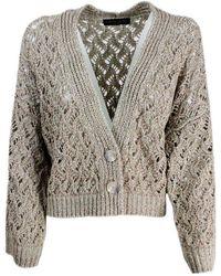Fabiana Filippi Sweaters Golden - Multicolour