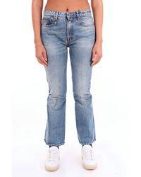 R13 Cotton Jeans - Blue